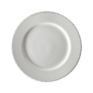 Wicker 10.25  Dinner Plate (Set of 6)  sc 1 st  Wayfair & Black u0026 White Dinner Plates Youu0027ll Love   Wayfair