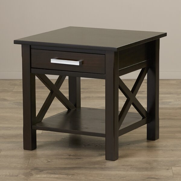 Burriss End Table by Charlton Home
