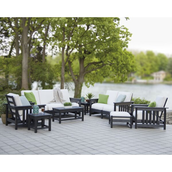 Mission 8-Piece Deep Seating Group By POLYWOOD®