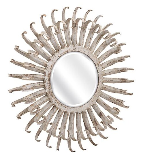 Saddie Wall Mirror by Woodland Imports
