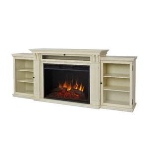 Real Flame Jfp1883 Grand Tracey 84 Tv Stand With Fireplace