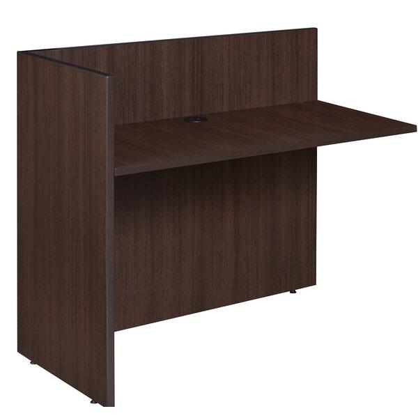 Linh L-Shape Reception Desk by Latitude Run