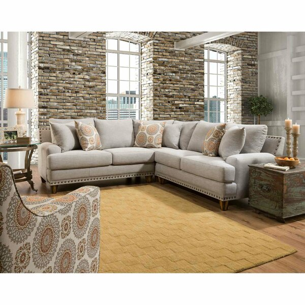 Astrid Symmetrical Sectional by Charlton Home