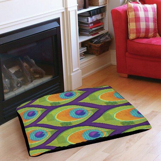 Peacock 10 Indoor/Outdoor Pet Bed by Manual Woodworkers & Weavers