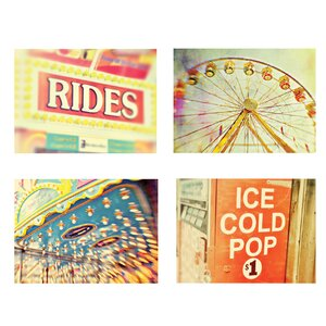Carnival 4 PiecePhotographic Print Set (Set of 4) by Kindred Sol Collective