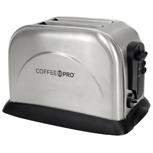 2 Slice Stainless Steel Toaster by CoffeePro| @ $59.99