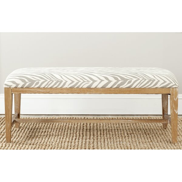 Kaylie Upholstered Bench by Safavieh