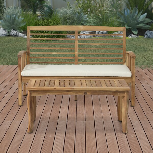 Benito 2 Piece Sofa Seating Group with Cushions by Bayou Breeze