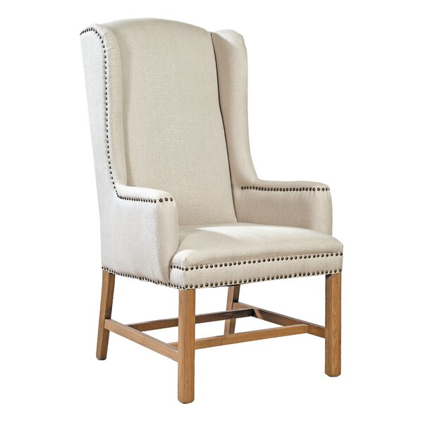 Mixon Wingback Chair by Ophelia & Co.