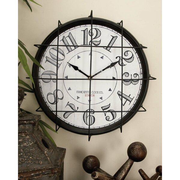 Superior 12 Wall Clock by August Grove