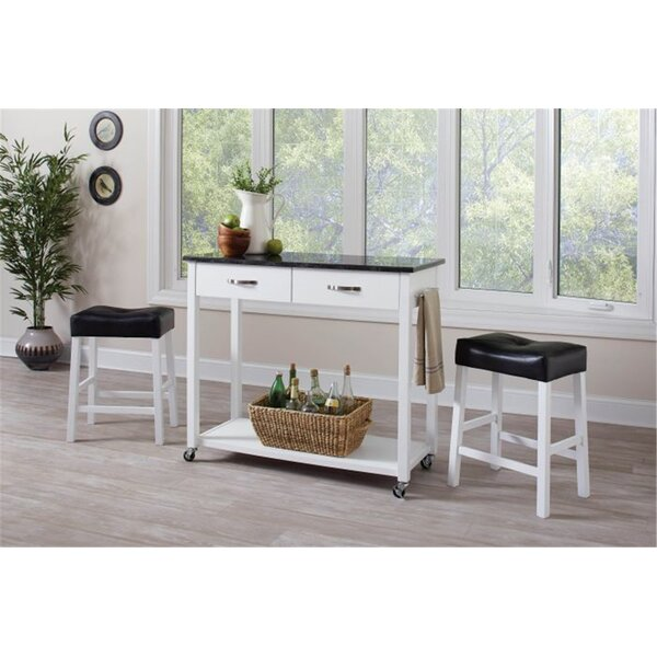 Bergland 3 Piece Kitchen Island Set By Brayden Studio New Design