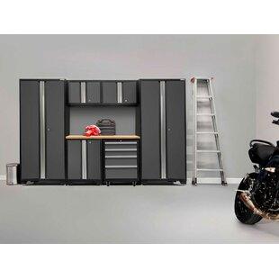 Bold 3.0 7 Piece Storage Cabinet Set  sc 1 st  Wayfair & Metal Storage Cabinets Youu0027ll Love | Wayfair