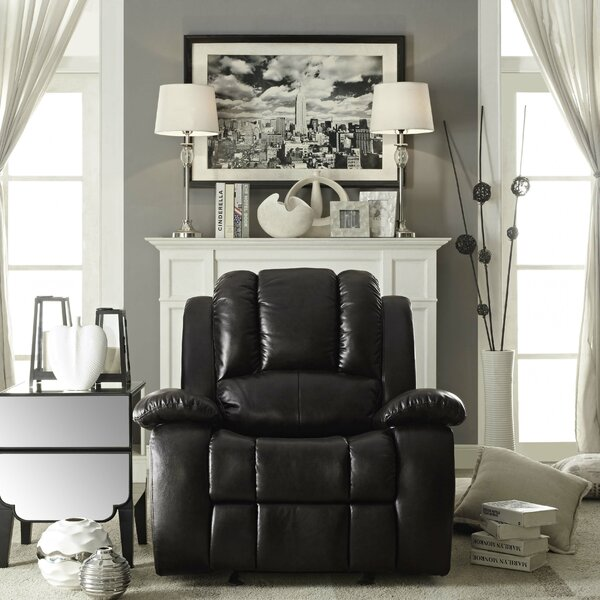 Egan Manual Rocker Recliner by Darby Home Co