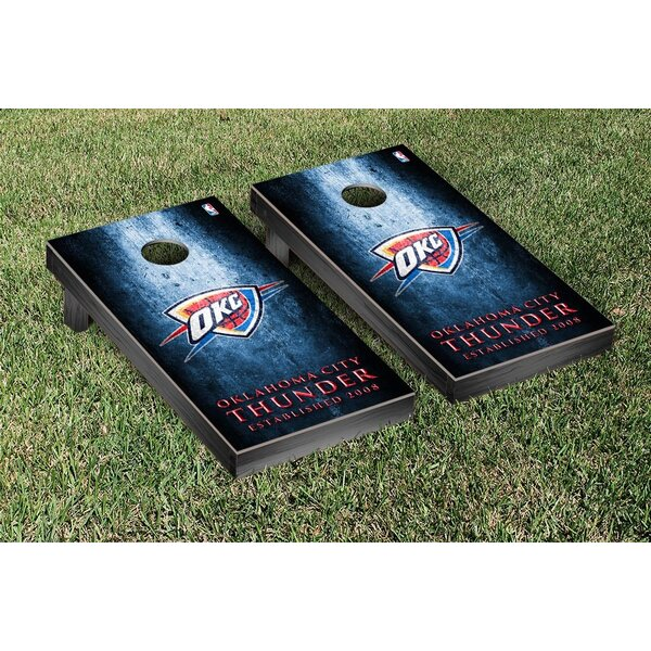 NBA Museum Version Cornhole Game Set by Victory Ta