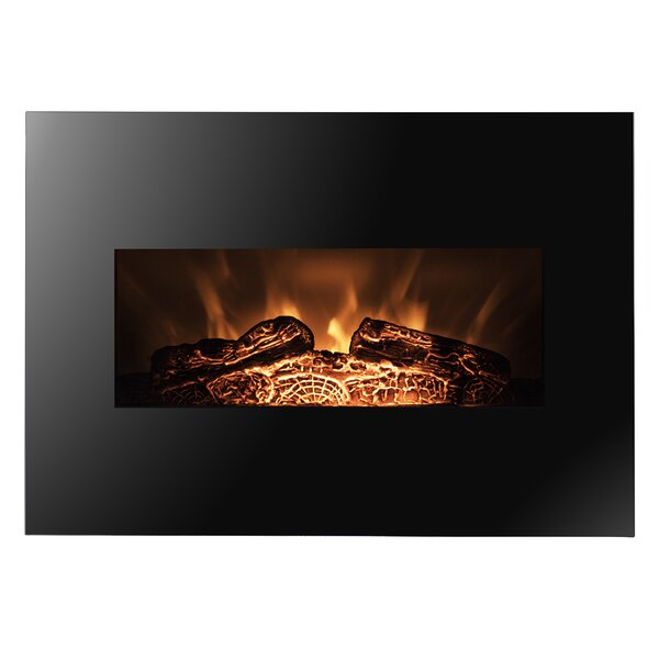 3D Flames Firebox Wall Mounted Electric Fireplace