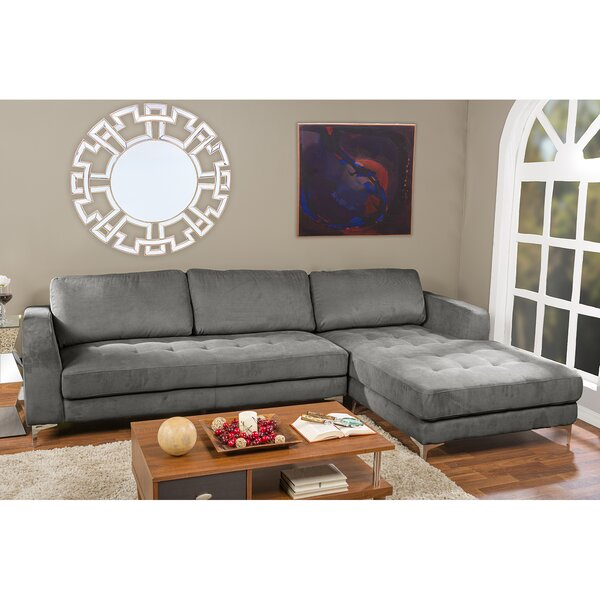 Baxton Studio Right Hand Facing Sectional By Wholesale Interiors Wonderful