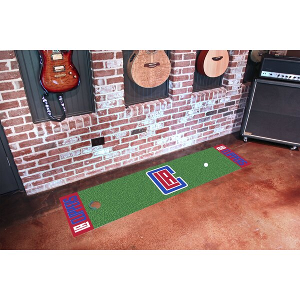 NBA - Los Angeles Clippers Putting Green Doormat by FANMATS