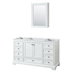 Find the perfect Deborah 59.25 Single Bathroom Vanity Base Only ByWyndham Collection