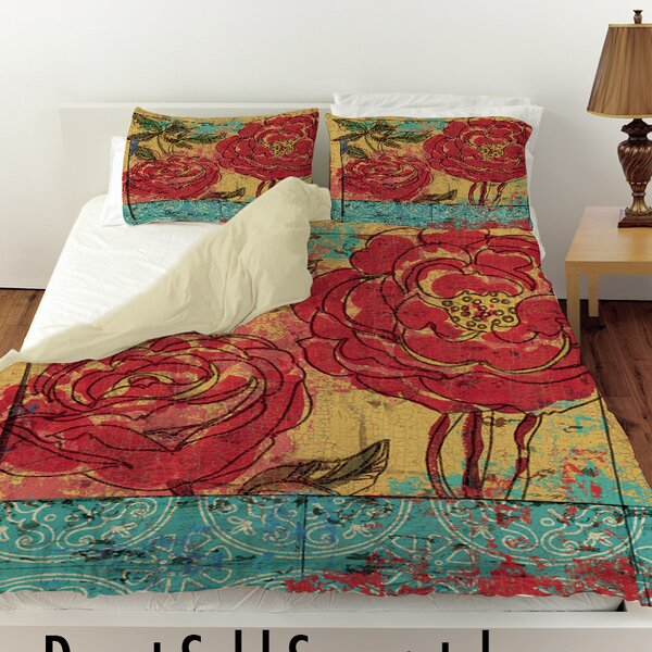 Valencia 3 Duvet Cover by Manual Woodworkers & Weavers