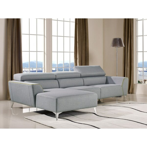 #2 Bever Reclining Sectional By Latitude Run