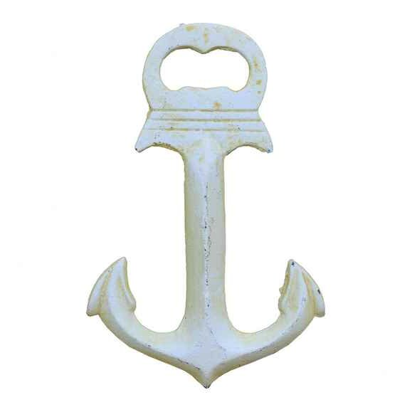 Anchor Deluxe Bottle Opener by Handcrafted Nautical Decor
