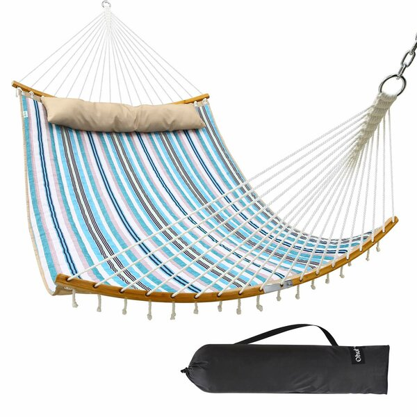 Trista Double Spreader Bar Hammock by Rosecliff Heights