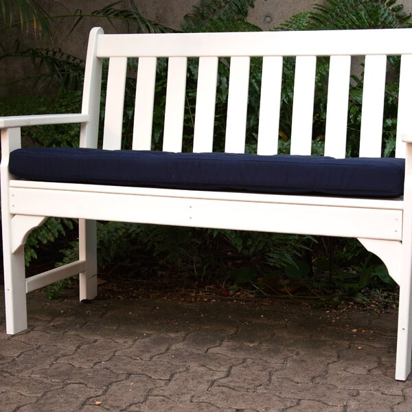 Luxe™ Indoor/Outdoor Sunbrella Bench Cushion by A