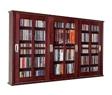 Jones Multimedia Wall Mounted Cabinet by Andover M