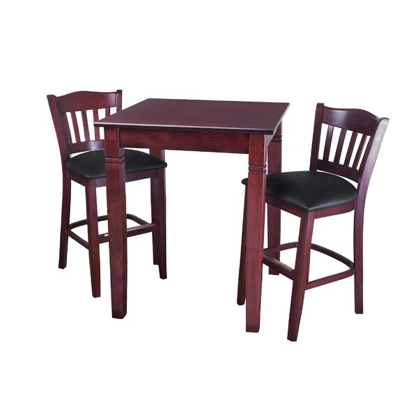 Earls 3 Piece Pub Table Set by Darby Home Co