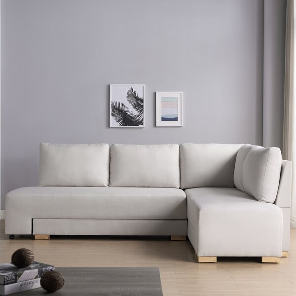 Menominee Reversible Modular Sectional By Wrought Studio