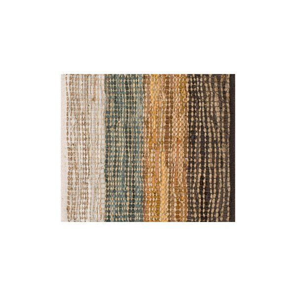 Kirkley Hand-Woven Gray/Brown Area Rug by Charlton Home