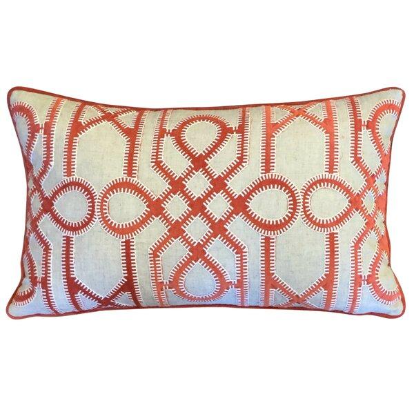Banuelos Velvet Lumbar Pillow by Wade Logan