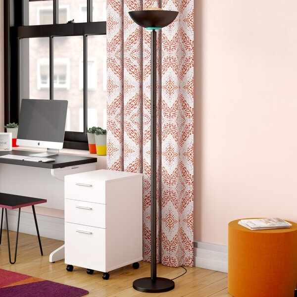 Weese 72 Torchiere Floor Lamp by Latitude Run
