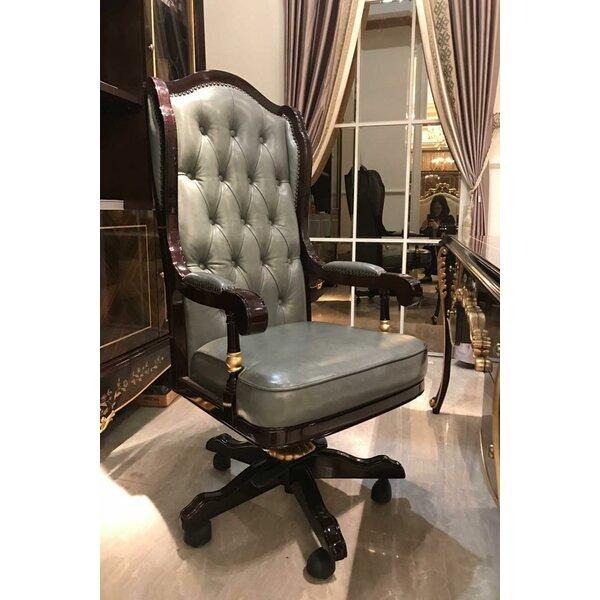 Abbacchio Genuine Leather Executive Chair