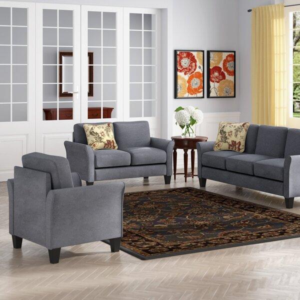 Goldnilla 3 Piece Living Room Set by Red Barrel Studio