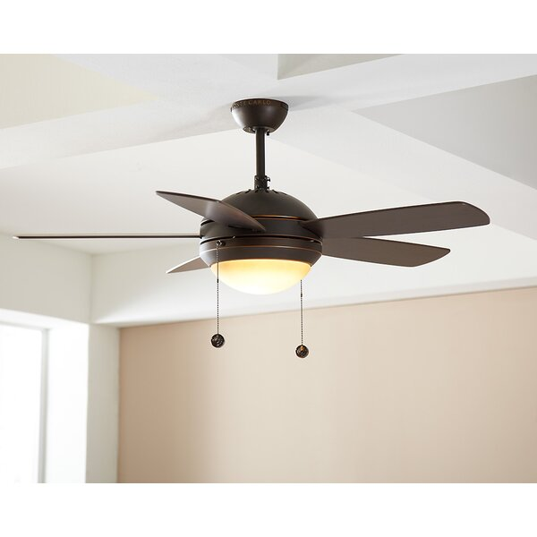 44 Beltran 5 Blade Ceiling Fan by Mercury Row