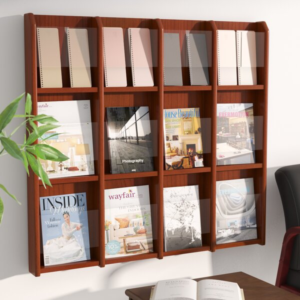 12 Magazine / 24 Brochure Wall Display by Rebrilliant
