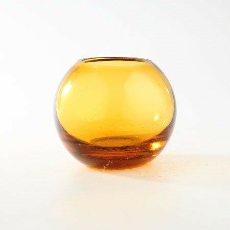 Table Vase by Diamond Star Glass