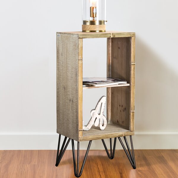Callender End Table with Storage by Union Rustic