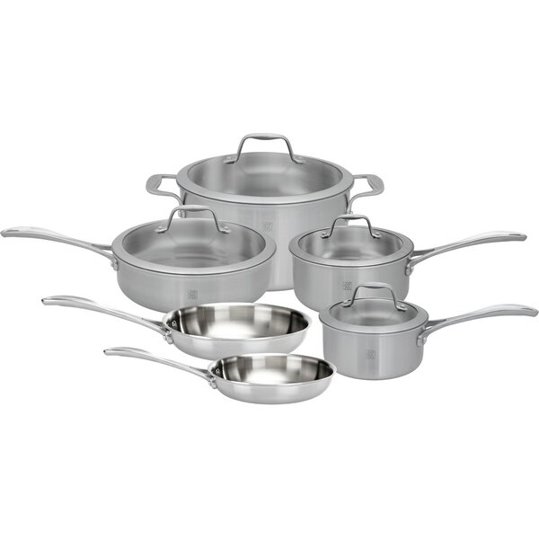 Spirit 10 Piece Stainless Steel Cookware Set by Zwilling JA Henckels