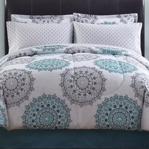 Bourneville 8 Piece Comforter Set by Andover Mills