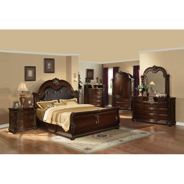Darrius Upholstered Sleigh Configurable Bedroom Set by Astoria Grand