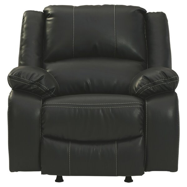 Okawville Faux Leather Manual Rocker Recliner W002022632