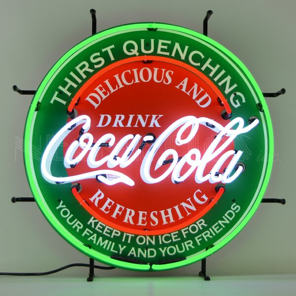 Coca-Cola Neon Wall Light by Neonetics