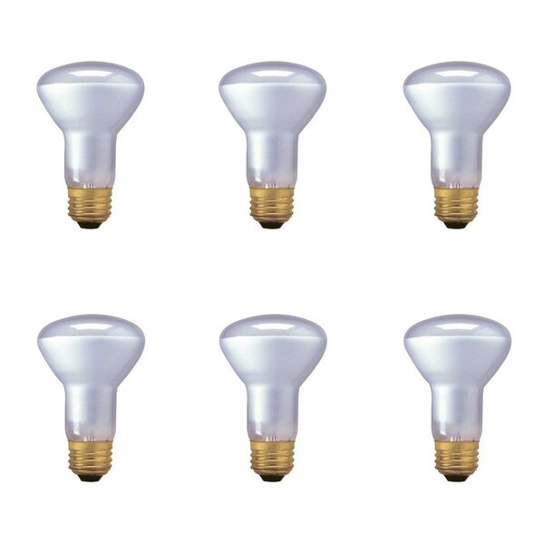 45W E26 Dimmable Halogen Spotlight Light Bulb (Set of 6) by Bulbrite Industries