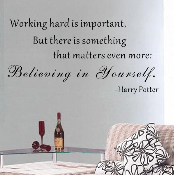 Believing In Yourself   Harry Potter Wall Decal