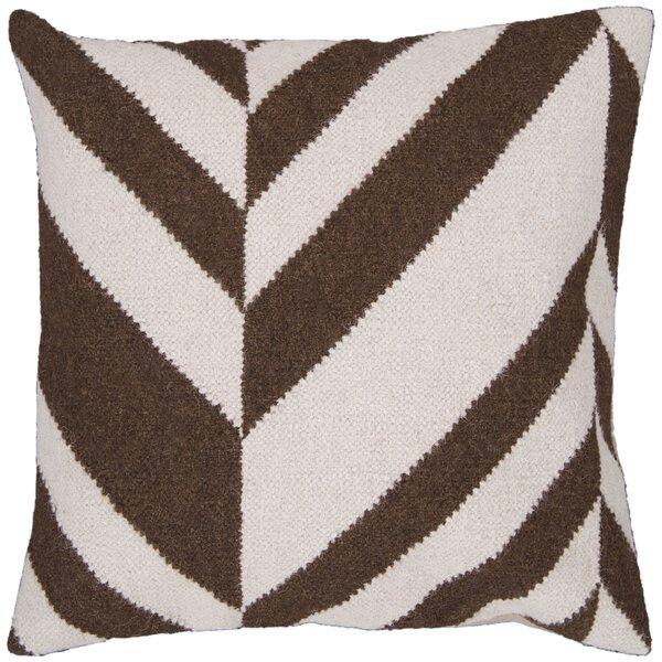 Volney Slanted Stripe Throw Pillow by Latitude Run