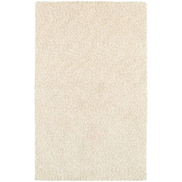 Toronto Hand-Tufted Ivory Area Rug by Red Barrel Studio
