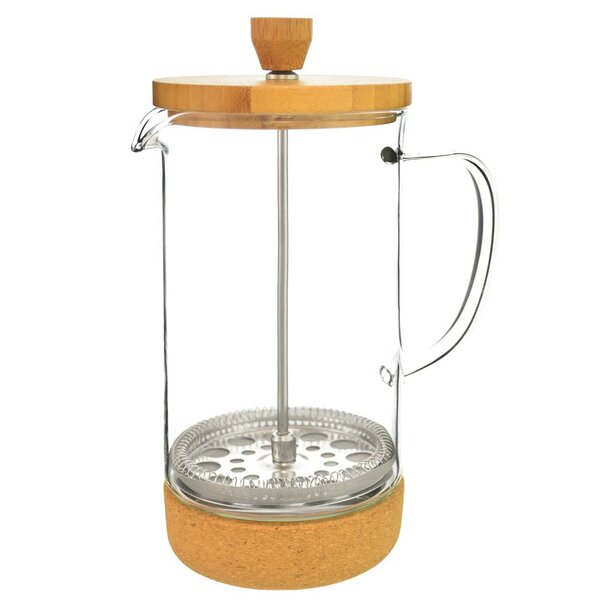 8-Cup Melbourne Bamboo Lid French Press Coffee Maker by Grosche