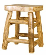 Aspen Heirloom 24'' Bar Stool by Mountain Woods Furniture